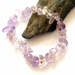 Ametrine Chip Stretch Bracelet