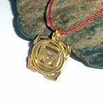 Root Chakra Vermeil Necklace