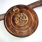 Tree of Life Incense Burner Plate