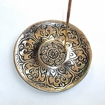 Lotus Petal Aluminum Incense Burner Plate
