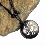 Tibetan Eight Trigrams Bagua Necklace