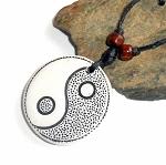 Tibetan Tai Chi Yin Yang Necklace