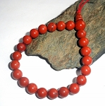 Red Jasper Mala Power Bracelet