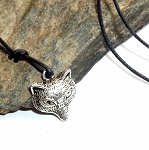 Tibetan Silver Fox Necklace