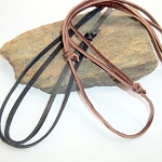 Sliding Knot Leather Cord