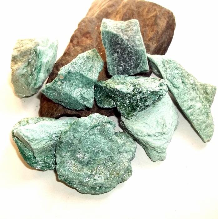 Green Muscovite Mica : Fuchsite green muscovite raw mineral specimen