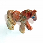 Dolomite Horse Spirit Animal Carving