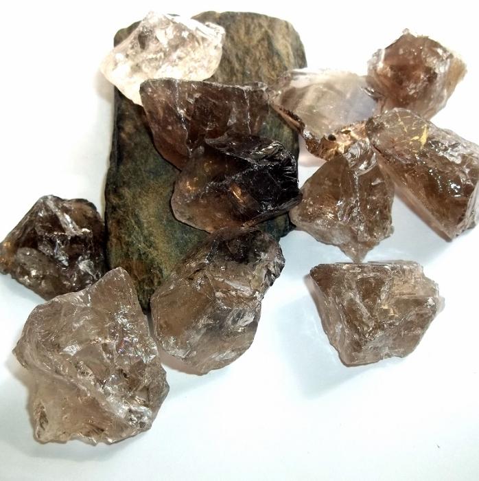 Image result for smoky quartz raw