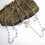 Labradorite Rosary Three Way Necklace