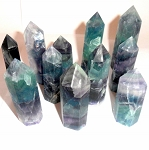 Fluorite Gemstone Tower