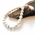 Howlite Mala Power Bracelet
