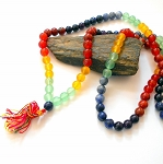 Seven Chakras Japa Mala Prayer Beads