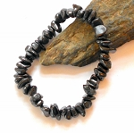 Shungite Chip Stretch Bracelet
