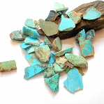 Arizona and Nevada Turquoise Slab .5 to 1 Inch