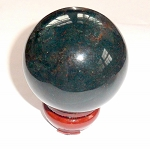 Bloodstone Gemstone Sphere