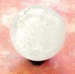 Clear Quartz Gemstone Sphere