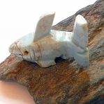 Dolomite Shark Spirit Animal Carving