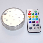 LED Color Change Light Base with Remote