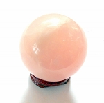 Rose Quartz Gemstone Sphere