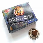 Attracts Money Incense Cones