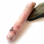 Rhodonite Rounded 5 Inch Massage Wand