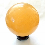Golden Calcite Gemstone Sphere