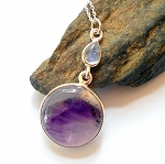 Auralite 23 Sterling Silver Necklace