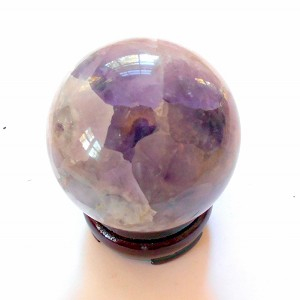 Amethyst Gemstone Sphere 2