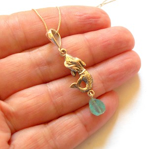 Raw Blue Apatite Sterling Silver Necklace