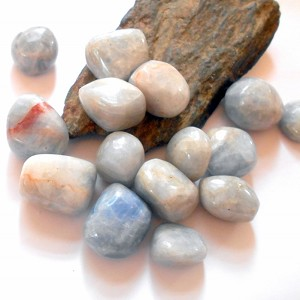 Blue Calcite Polished Gemstone