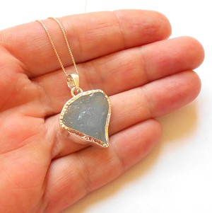 Aquamarine Sterling Silver Ring Size 6.5