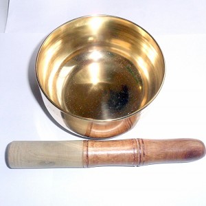 Nepal Singing Bowl 4 Brass