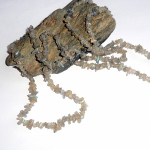 Labradorite Long Chip Necklace