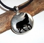 Wolf Spirit Unisex Necklace