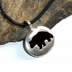 Bear Spirit Unisex Necklace
