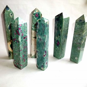 Ruby in Fuchsite Tower
