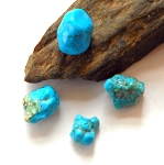 Kingman Turquoise Polished Stone - Small
