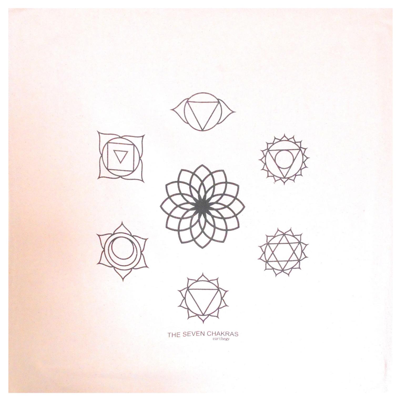 photograph regarding Printable Crystal Grid named 7 Chakras Crystal Grid Material - 20x20