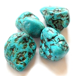 Kingman Turquoise Polished Stone -Large