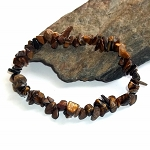 Tigers Eye Chip Stretch Bracelet