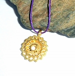 Crown Chakra Vermeil Necklace
