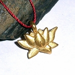 Prosperity Charm Vermeil Necklace