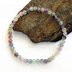 Fluorite Stretch Bracelet Mini
