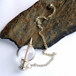 Rock Crystal Clear Quartz Sephoroton Pendulum
