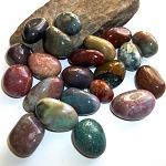 Half Pound Fancy Jasper Polished Gemstones