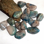 Chrysocolla Quartz Gemstone