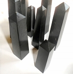 Black Agate Gemstone Tower