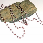 Garnet Three Way Necklace