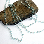 Blue Topaz Three Way Necklace