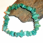 Russian Amazonite Chip Stretch Bracelet